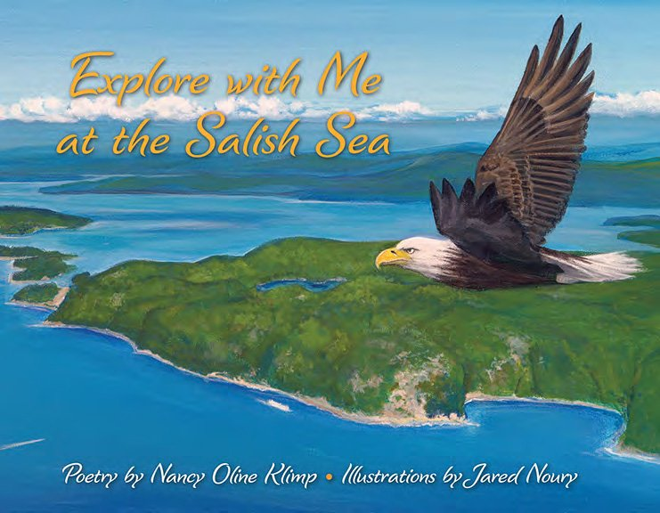 Explore with me at the salish sea book front cover