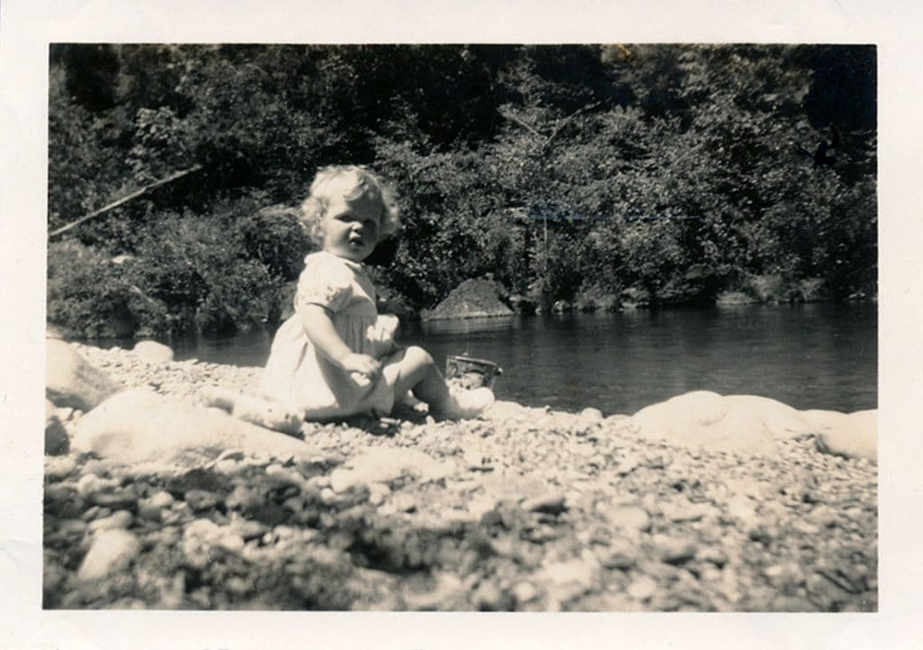 Nancy Klimp as a toddler, Connecting Children with Nature Will Save Us All