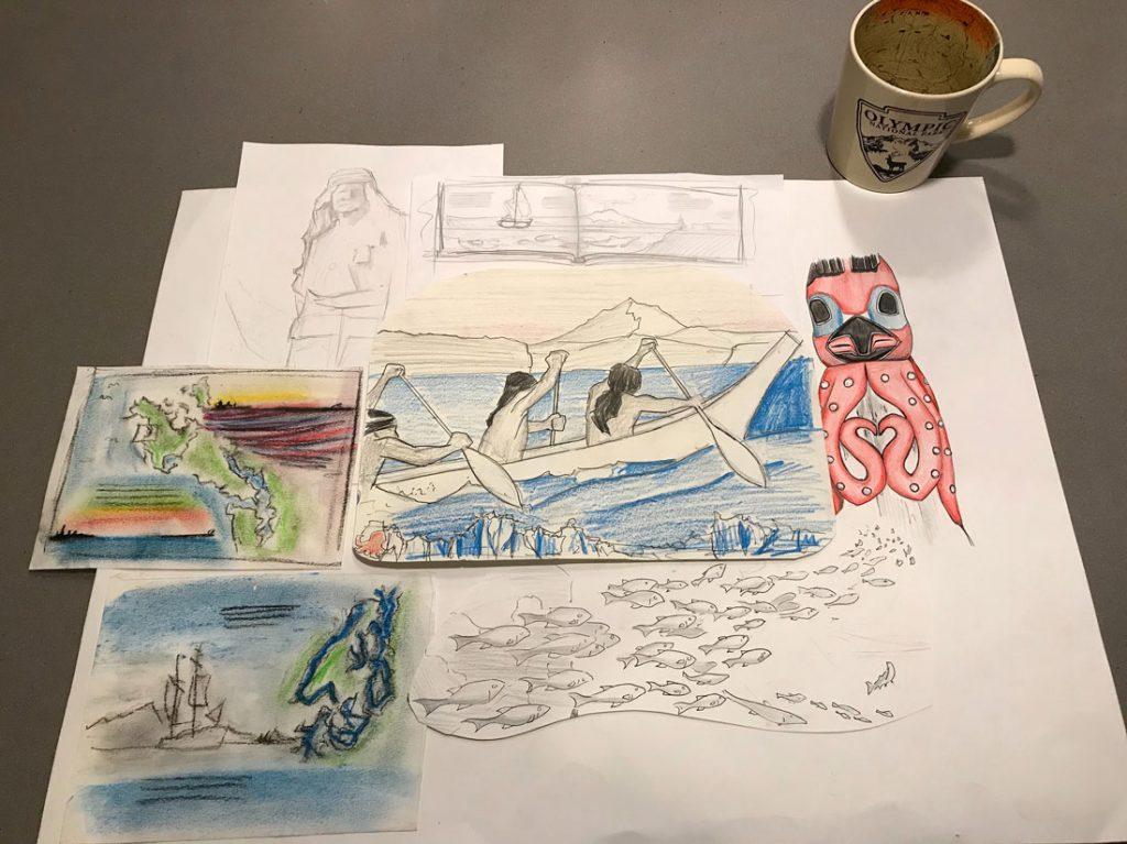 Canoe sketches